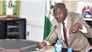 Photo of EFCC names these two states as headquaters of money laundering