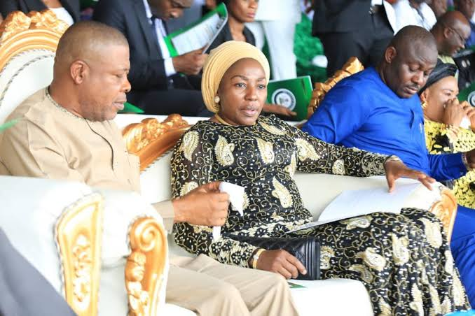 Emeka Ihedioha and wife