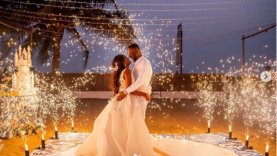 Photo of Simi pens down romantic eulogy to husband as they celebrate anniversary
