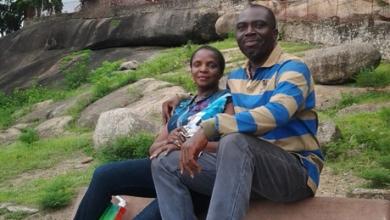 Photo of Simi's mum celebrates second wedding anniversary with husband (photos)