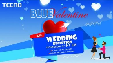 Photo of Win ₦1.5M Wedding Reception Sponsorship in TECNO Blue Valentine