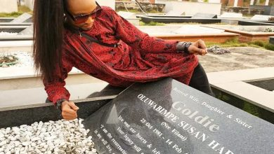 Photo of See why TV star,  Denrele Edun spent his Valentine's Day in a graveyard (Photos)