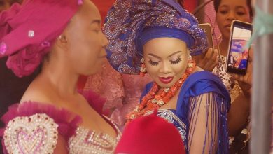 Photo of It's official! Read Nina Ivy first message as a married woman (Photos)