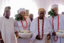 Photo of Shina Peller and wife conferred with Chieftaincy titles in Epe (Photos)