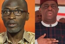 Photo of Femi Fani-Kayode and Kayode Ogundamisi drag each other on social media over Olisah Metuh