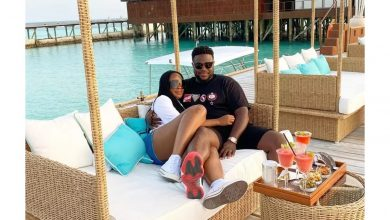 Photo of After shutting down Dubai, Davido's brother and new wife spend honeymoon in Indonesia, Maldives (photos)