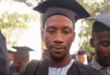 Photo of Nigerian man celebrates admission into university after writing WAEC 3 times and JAMB 5 times
