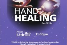 Photo of D Lord's Jewels Ministry to hold it's Quarterly Women's Prayer Conference, tagged; 'HAND OF HEALING'