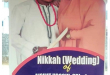 Photo of Igbo couple set to have Islamic wedding in Imo state – See their invitation card