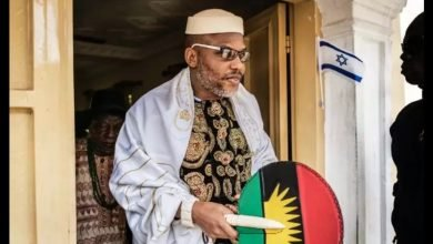 Photo of Nnamdi Kanu is dead – Kemi Olunloyo shares his burial photo