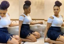 Photo of Chidinma Ekile shows off wedding ring on her finger