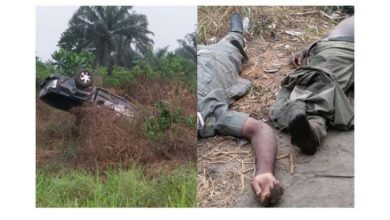 Photo of How two policemen died chasing after a commercial vehicle