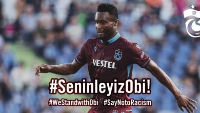 Photo of Mikel Obi suffers racist attack in match between Trabzonspor and Fernabache