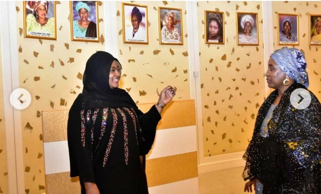 Aisha Buhari and Turai Yar'adua