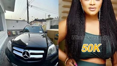 Photo of Fans pity male actors in Nollywood as actress Biodun Okeowo buys brand new benz