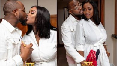 """Photo of """"You never marry, na only introduction you do"""", lady trolls Chioma for calling Davido her husband"""