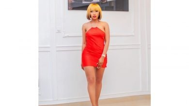 Photo of The umpteenth time Mercy Eke looked surreal in red outfits
