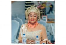Photo of Ngozi Ezeonu shares more photos from her daughter's wedding, husband still missing