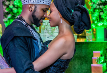 Photo of BankyW reveals the only thing more beautiful than his wife's face