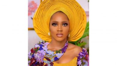 Photo of Just because regular is boring! This Mustard Aso oke design would wow you.