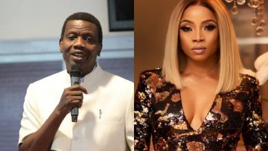 Photo of Toke Makinwa defends Pastor Adeboye's comment on men marrying a lady who can't cook