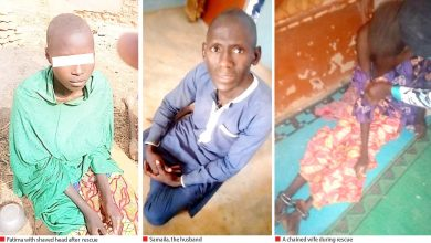 Photo of Man chains wives, children for 10months…forces them to drink his semen (photos)