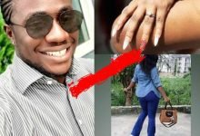 "Photo of ""I'm at loss for words"", BBNaija's Bitto says as he announces engagement to girlfriend"