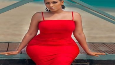 Photo of Juliet Ibrahim stuns in red outfit on Valentine's Day