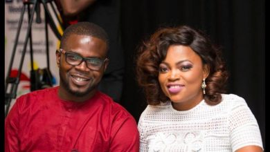 "Photo of ""You are a blessing to this generation"", Funke Akindele's husband gushes over her"