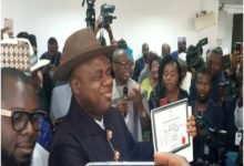 Photo of Bayelsa: Diri Duoye receives INEC certificate of return