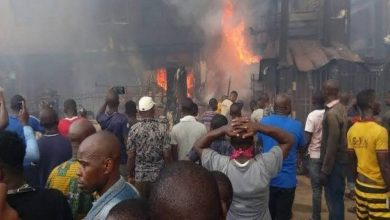 Photo of Airport, Mile 12 Market, Obasanjo's house razed by fire after Pastor Adeboye prophecy