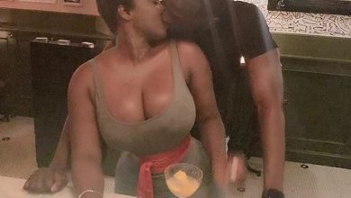 Photo of Princess Shyngle expresses love for her husband as he grabs her butt (Video)