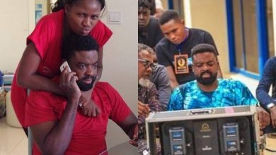Photo of Kunle Afolayan, wife, wave off crash of their 12yr marriage by focusing on new projects (photos)
