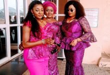 Photo of Nollywood stars storm Ngozi Ezeonu's daughter's wedding in grand style