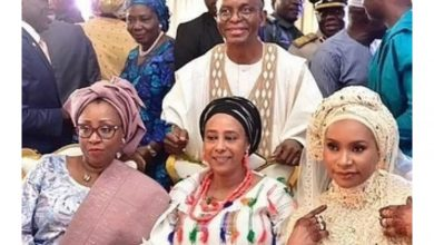 Photo of El-Rufai shows off his wives as he marks his 60th birthday