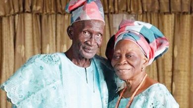 Photo of 97-year old Nigerian man and his 89-year-old wife share secrets of their 65-year old marriage (photos)