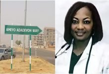Photo of Abuja dedicates road to late Stella Adadevoh