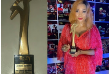 Photo of Yoruba actress Jumoke Odetola bags 'Nollywood Actress of the Year' award