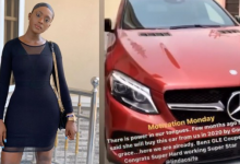 Photo of Where are the men? – Nigerians React as Actress Linda Osifo buys a new Mercedes Benz