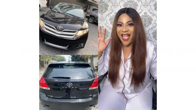 Photo of Mercy Aigbe, Iyabo Ojo react as Nkechi Blessing spoils herself with brand new Toyota Venza