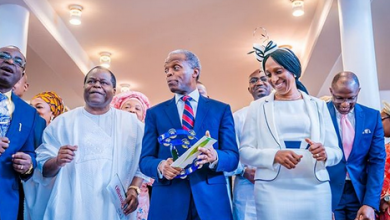 Photo of Osinbajo attacked for holding thanksgiving…shunning Adeboye's RCCG nationwide prayer protest (photos)