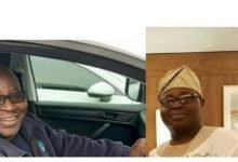 Photo of Nigerian prince gives up royal life in Lagos to be a plumber in London (photos)
