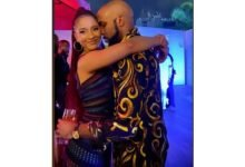 Photo of Sola Sobowale, Omoni Oboli, others storm Banky W's surprise birthday party for Adesua Etomi (photos)