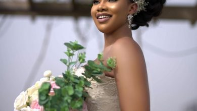 Photo of What is Life without love; BBNaija's Tacha says as she plays dress up as a bride