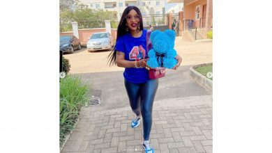 Photo of Tonto Dikeh celebrates Son's 4th birthday with giant cakes, pedicure, 700 Roses, luxurious packs and shoot!