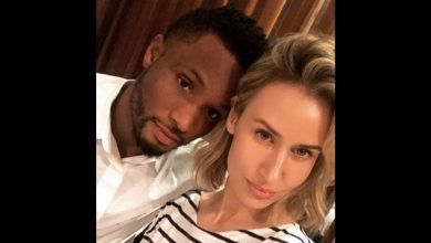 Photo of Olga Allegra reacts after her man Mikel Obi was called a p*ssy for terminating deal with Trabzonspor