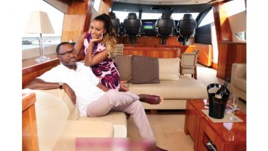 Photo of Father and daughter moment between Dj Cuppy and Otedola will melt your heart |Video