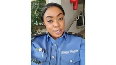 Photo of Popular policewoman Dolapo Badmus allegedly issued query for not isolating after London trip…PA reacts