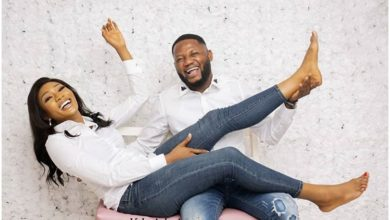 Photo of A reliable shoulder to lean on! Femi and Ebere cute prewedding album.