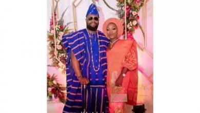 Photo of When a jeweller gets married! Kafilat and Gbadamosi's wedding album